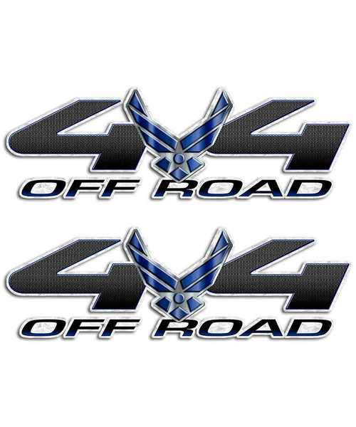 Air Force 4x4 Sticker set