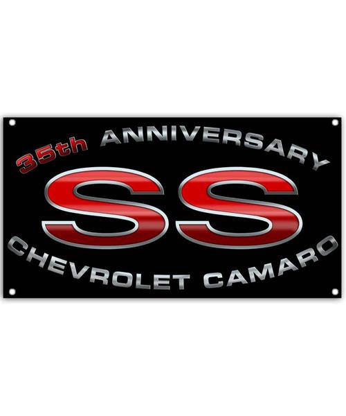 35th Anniversary Camaro SS Car Banner