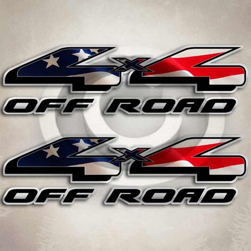 American Flag Ford F150 Truck Decals