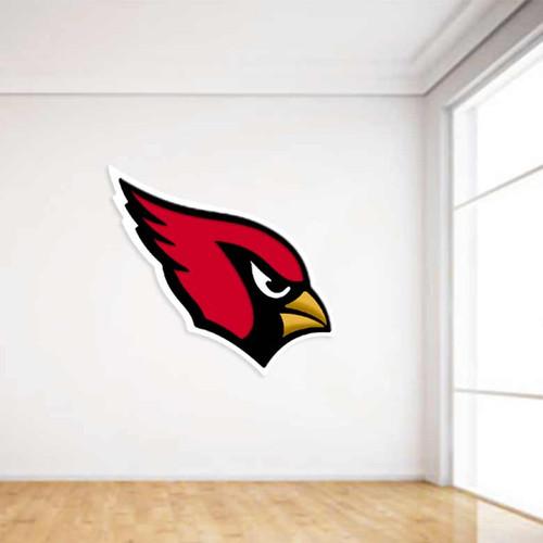 Cardinals Football Wall Decal
