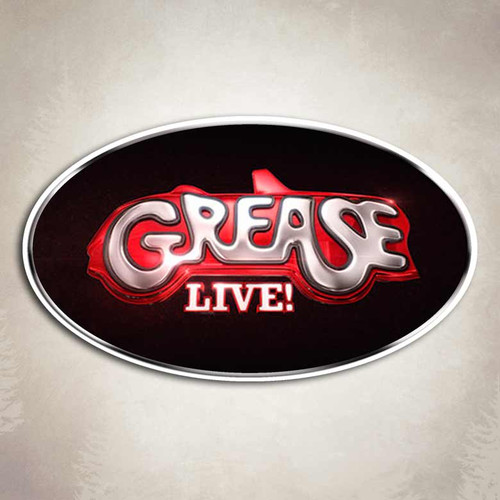 Grease Live Oval Sticker