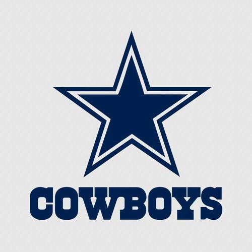 Dallas Cowboys Football Tumbler Decal