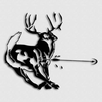 Whitetail Archery Hunting Killzone Sticker