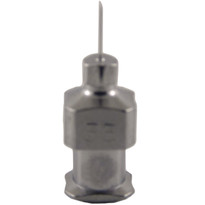 "Hypodermic Needles 33g x 1/4"" Plated Brass Hub (Box of 12)"