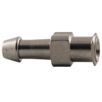 "FLL to 1/8-3/16"" Hose End (Plated Brass) (Individual)"