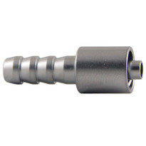 MLL to 6mm Hose End (Plated Brass) (Individual)