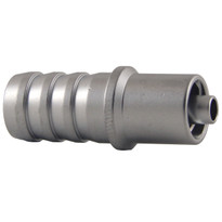 MLL to 10mm Hose End (Plated Brass) (Individual)
