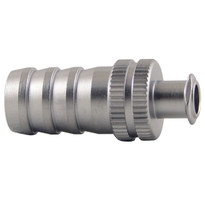 FLL to 10mm Hose End (Plated Brass) (Individual)