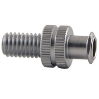 FLL to M6 x 10mm Thread (Plated Brass) (Individual)