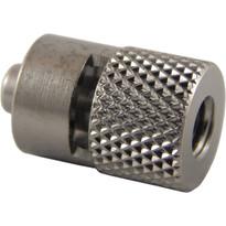 MLL to 10-32 Internal Standard Thread (Plated Brass) (Individual)