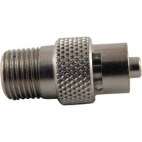 MLL to 1/8-27 NPT (Plated Brass) (Individual)