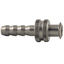 FLL to 5mm Hose End (Stainless Steel) (Individual)