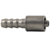 MLL to 6mm Hose End (Stainless Steel) (Individual)