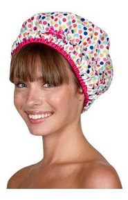 Betty Dain Deco Dots Shower Cap