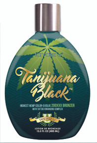 Tan Asz U Tanijuana Black Tanning Lotion with 200XX Bronzers. 13.5 fl oz