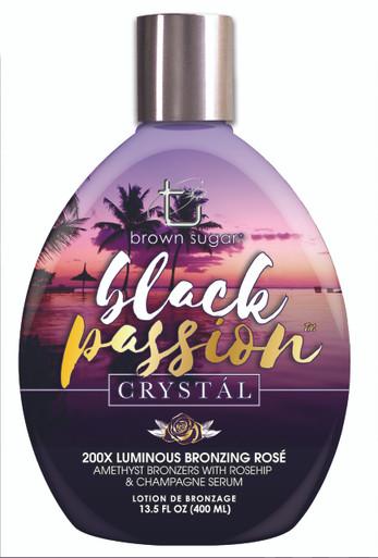 Tan Inc. Brown Sugar Black Crystal Tanning Lotion with Bronzers. 13.5 fl oz