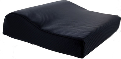 Contoured Lunar Series Black Tanning Bed Pillow
