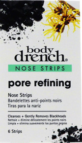 Body Drench Pore Refining Nose Stips. 6 Strip Package