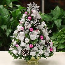 Christmas Joy Boxwood Tree