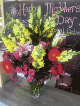 "Salvy the Florist's ""Special Reservation"" Mother's Day Bouquet. Guaranteed Delivery Before Noon on Mother's Day. Only 28 Now Available."