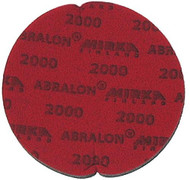 """Abralon Sanding Pad 2000 Grit  Do you need to sand your ball down to a different finish? If so this could be the perfect sanding pad for you. This is a 2000 Grit sanding pad. It can be used wet, or dry. It works great with Powerhouse Ball Resurface. This sanding pad will last 5 times longer than sand paper. If you are looking to use a 2000 Grit sanding pad on your ball then look at using this Abralon Sanding Pad 2000 Grit.  For a mild luster with texture underneath Cosmetically appealing, consistent scratch pattern provides excellent traction Combines the benefits of abrasive cloth and non-woven products Opening in the fabric allows water to flow freely around the abrasive Resists """"caking""""Foam center holds large amounts of water for lubrication and cooling Solid surface and foam backing provide even surface pressure Last 5+ times longer than sandpaper Use wet or dry (residual material can be removed by high pressure air)Works great on our Powerhouse Ball Resurfacer SKU: EQUIP077EAProduct ID: 3907"""