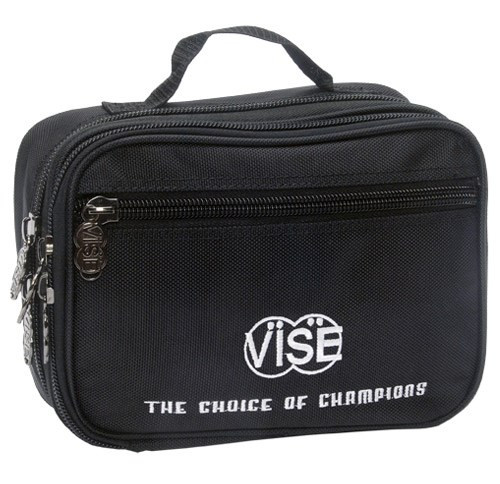 "Vise has developed this accessory bag to have multiple pockets so the bowler can organize all of their accessories.  Dimensions: 10"" X 7.5"" X 1""Handle StrapMultiple Pockets"