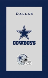 """NFL Dallas Cowboys Towel  Colorful designs16"""" x 26"""" velour towelIndividually packaged"""