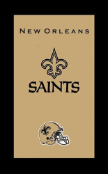 """Who Dat? Show off your favorite NFL team with his top-quality bowler's towel supporting your New Orleans Saints.  Colorful designs16"""" x 26"""" velour towelIndividually packaged"""
