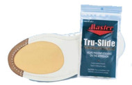 Made from DuPont's non-stick Teflon, this self-adhesive slide sole is designed to fit any size shoe.  One per package.