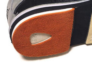 3G Heel Leather Orange  This is a perfect heel for a bowler who needs the least amount of brake. This heel option can be paired with the different slide soles to give you the best sliding options. This is easy to take off with the velcro attachment on the bottom of the heel. You can even do this while your at the bowling alley, it's that easy!  M fits 6 - 8L fits 8.5 - 11XL fits 11.5 - 13SKU: DTSPLHProduct ID: 3785