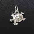 Sterling Silver Turtle Charm