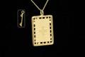 9ct Gold Trampoline Plain Necklat 25mm