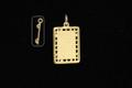 9ct Gold Trampoline Charm 18mm