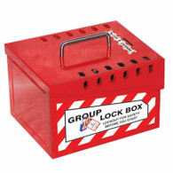 Group Lock Box - Red 13 - L