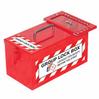 Group Lock Box - Red 17 + Box