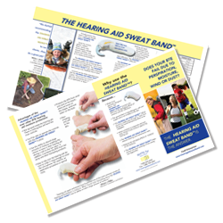 Download Hearing Aid Sweat Band™ Product Brochure (PDF format)