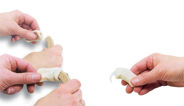 Hearing Aid Sweat Band - How to Apply to a BTE Hearing Aid