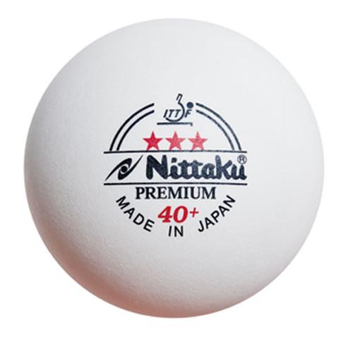 Nittaku 40+ Premium 3* (3) Balls