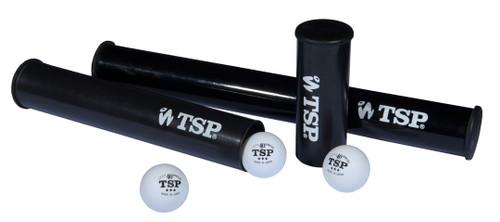 TSP Ball Box (6 balls) Black (Balls not included).