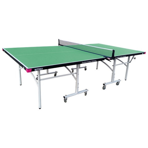 Butterfly Easifold Outdoor Rollaway Green Table, includes shipping and Net (USA Only)