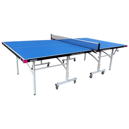 Butterfly Easifold Outdoor Rollaway Blue Table, includes shipping and Net (USA Only)