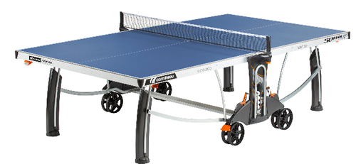 Cornilleau Performance 500M Crossover Indoor/Outdoor Blue Table (USA Only)