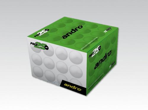 Andro Poly2S 2** White (72) balls