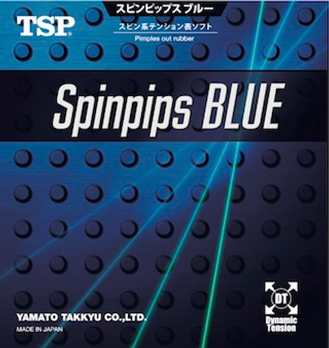 TSP Super Spinpips Blue Rubber (Short Pips)