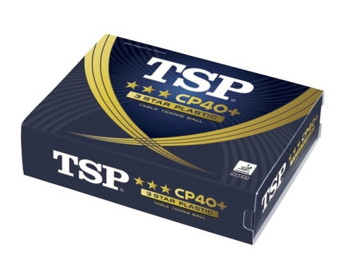 TSP CP40+ 3***  ABS Neutral White balls (12)