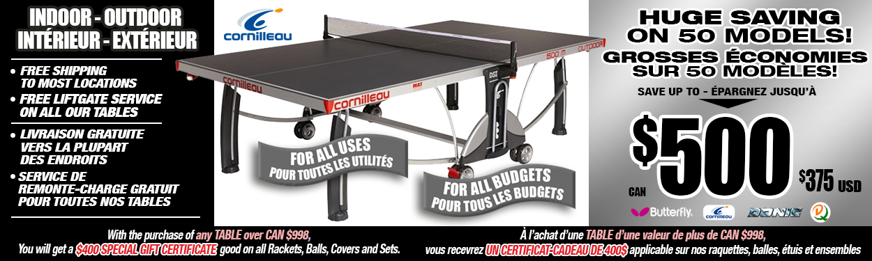 Pingpongdepot Com Table Tennis Ping Pong Equipment Store