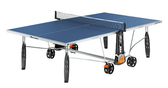 Cornilleau Sport 250S Crossover Indoor/Outdoor Blue Table Ping Pong Depot Table Tennis Equipment