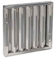 20 x 25 - Stainless Steel Hood Filter