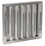 25 x 20 - Stainless Steel Hood Filter