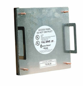 """8"""" X 8"""" Flame Gard Grease Duct Access Panel"""